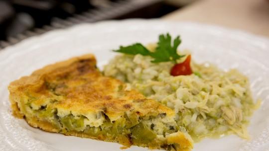 Quiche de Ervilha do Chef Ravioli