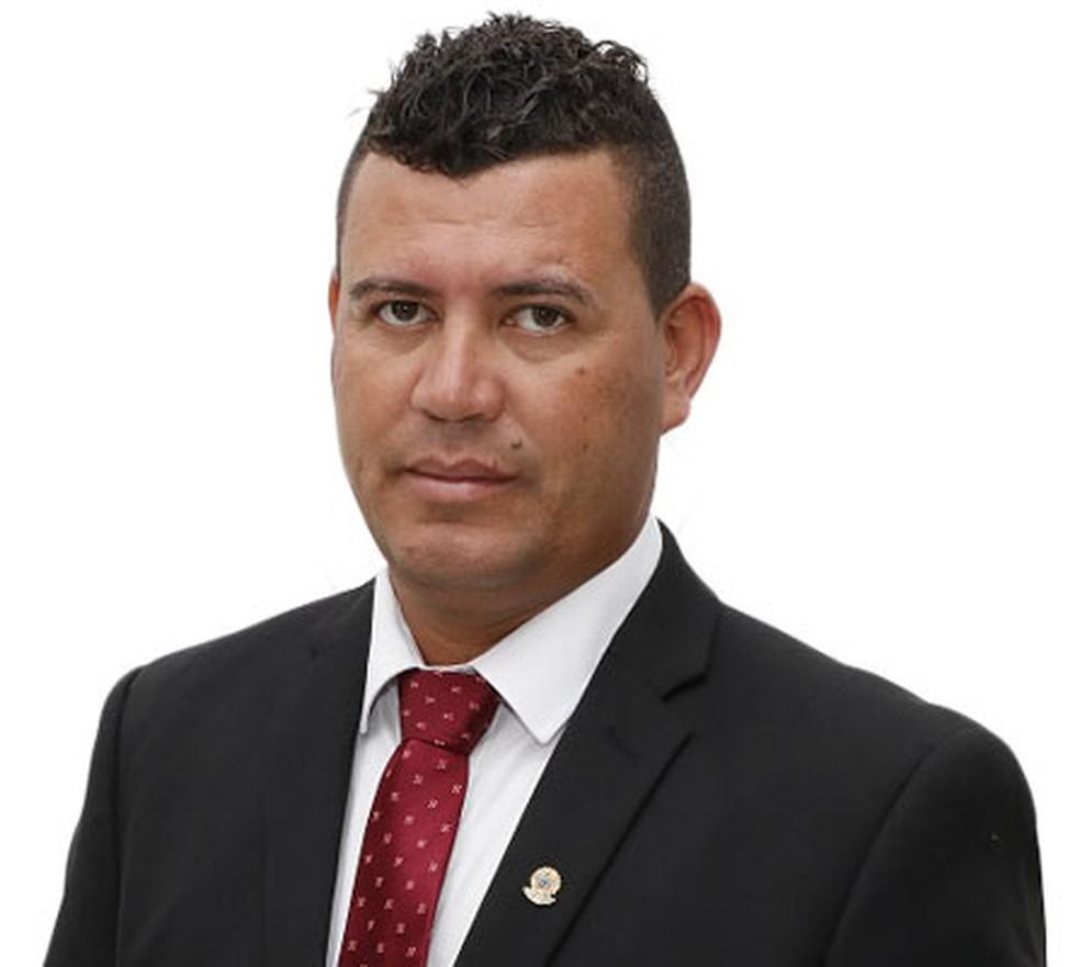 Vereador Antônio Marques Ferreira da Silva (PC do B), de Teixeira de Freitas — Foto: Reprodução/Câmara de Vereadores de Teixeira de Freitas