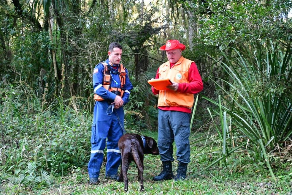 Certificação para atuar nas missões veio após a realização de 42 provas— Foto: Eduardo de Souza / CBMSC
