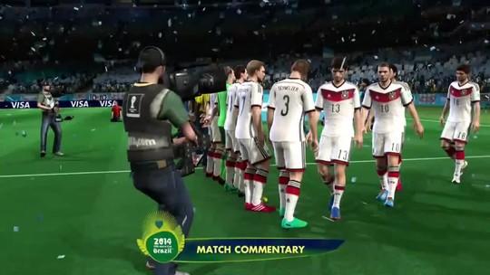 Simulação da Final da Copa do Mundo Fifa 2014: Alemanha x Argentina