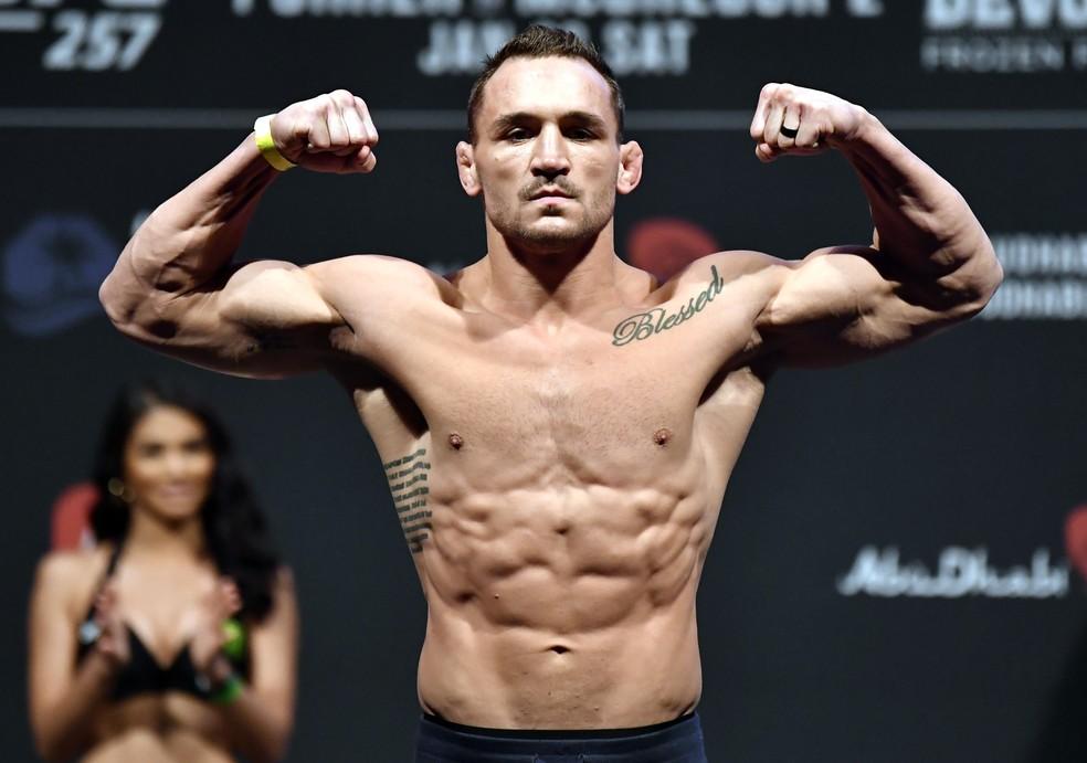 Michael Chandler chega à disputa do cinturão peso-leve do UFC com apenas uma luta na organização — Foto: Getty Images