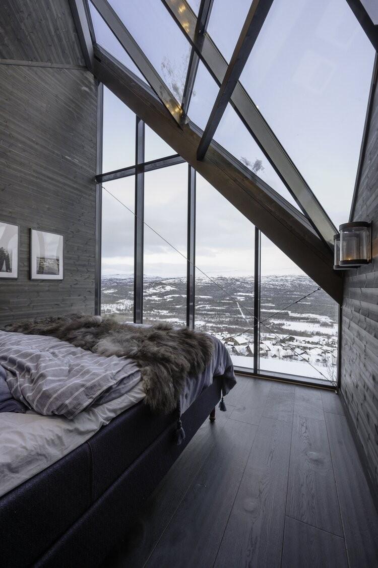 Você certamente vai querer escapar para esta cabana flutuante na Noruega (Foto: Martin Innerdal Dalen)