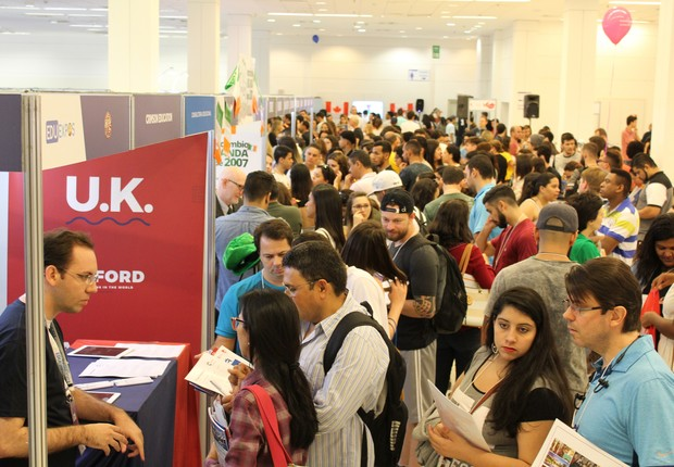 EduExpo é uma feira de intercâmbio com presença nos cinco continentes. No Brasil, acontecerá em São Paulo e Rio de Janeiro em 2018 (Foto: Divulgação/EduExpo)