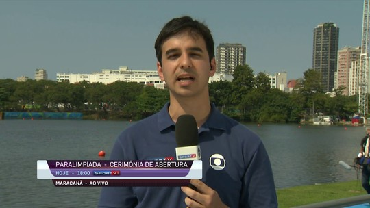 Atletas paralímpicos do Remo treinam na Lagoa Rodrigo de Freitas