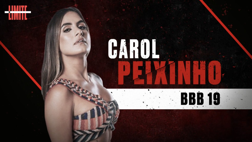 Carol Peixinho é uma das participantes do 'No Limite' ? Foto: Globo