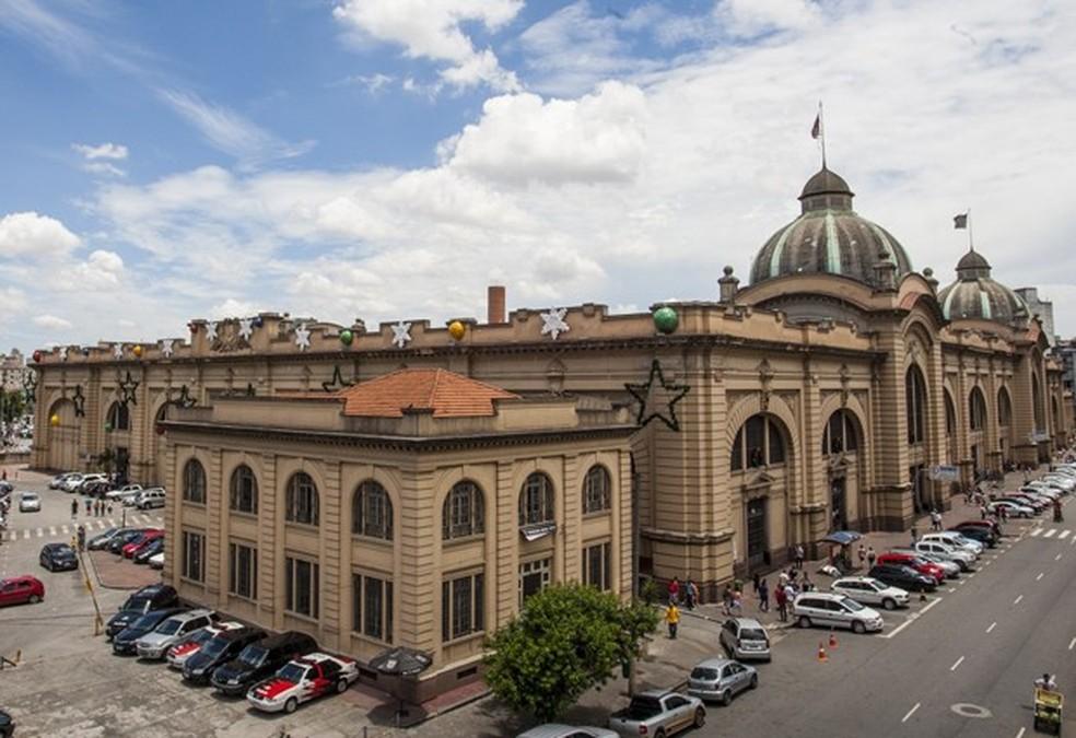 Mercado municipal de São Paulo — Foto: Vagner Campos/TV Globo