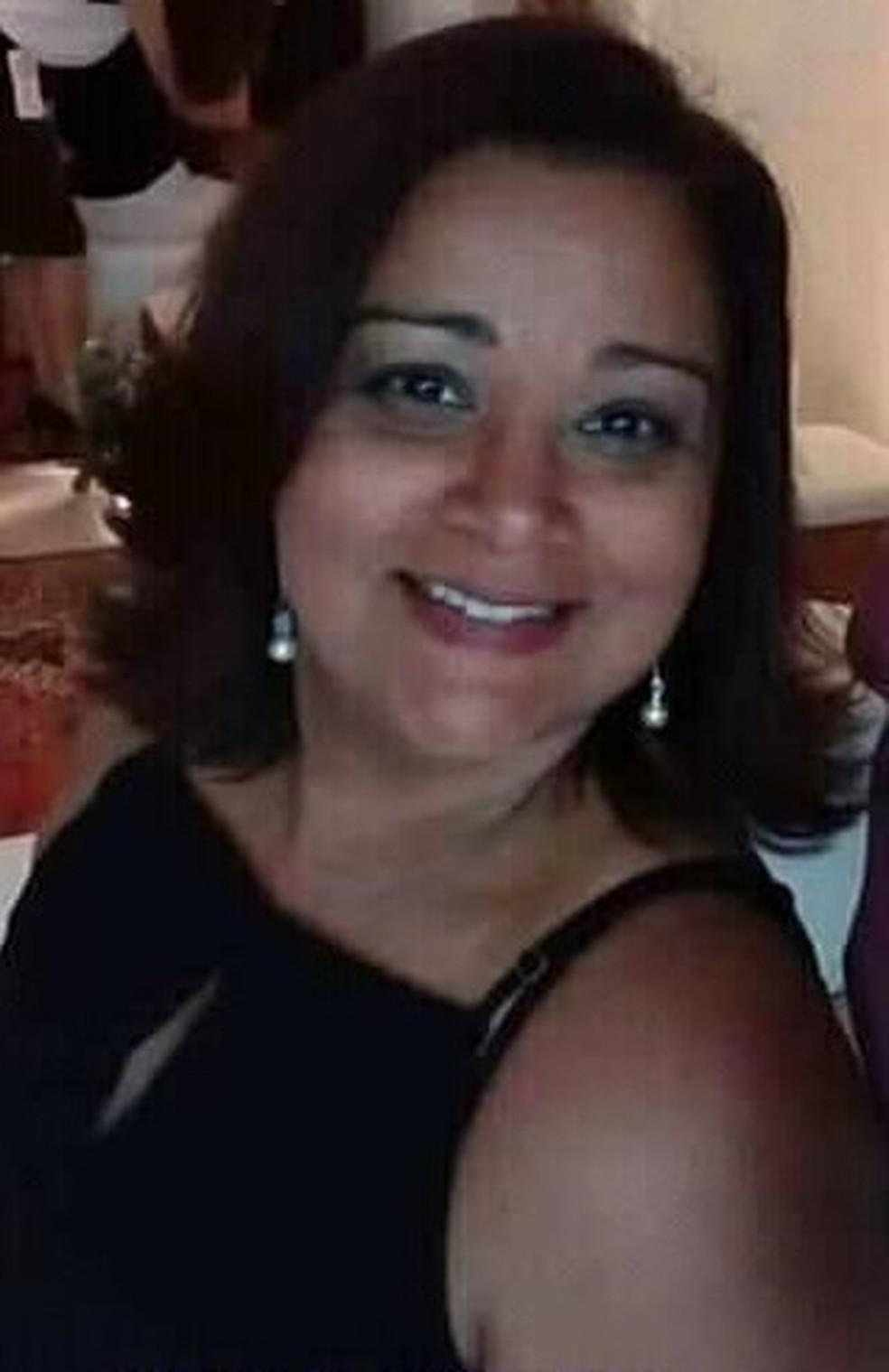 Ione Angélica dos Santos foi encontrada morta na geladeira da própria casa, no RJ — Foto: Reprodução/Redes Sociais