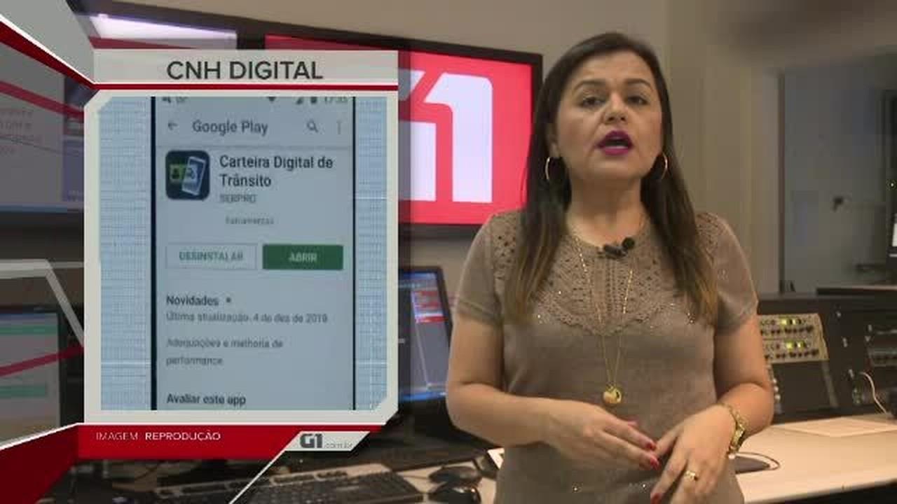 G1 em Um Minuto - Acre: Pouco mais de 2, 5 mil motoristas baixaram a CNH digital no Acre