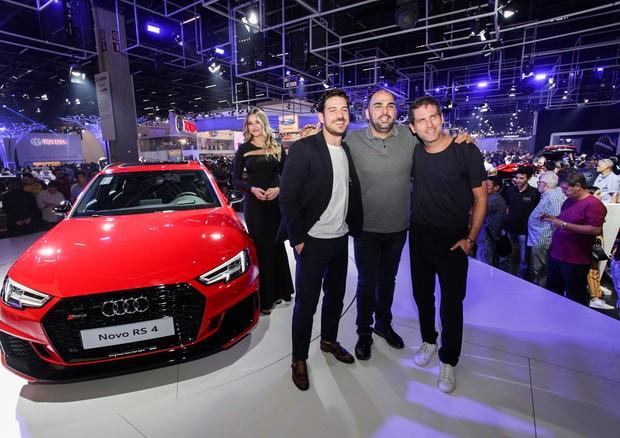 Marco Pigossi, Cláudio Rawicz e Dudi Machado (Foto: Marco Estrella)