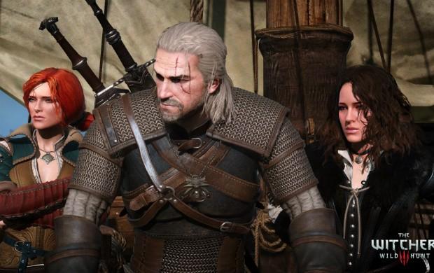 Triss, Geralt e Yennifer: três dos mais de 800 personagens que foram dublados na versão brasileira de 'The Witcher 3' (Foto: Divulgação/CD Projekt Red)