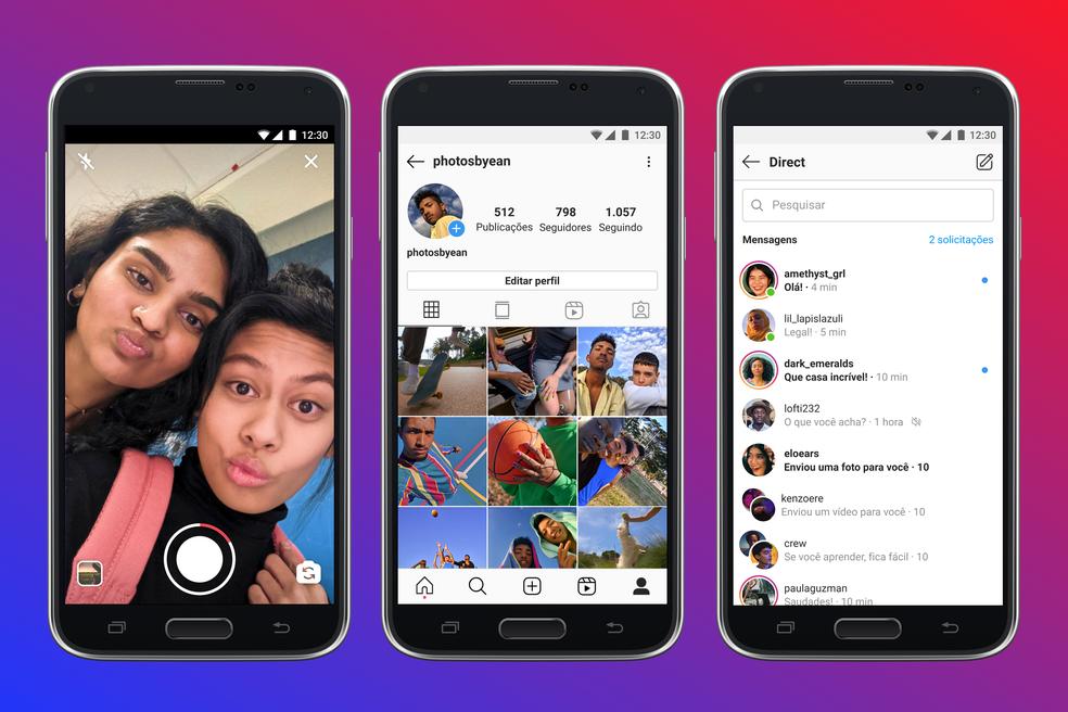 Instagram Lite: versão mais leve do app chega ao Brasil — Foto: Divulgação/Instagram