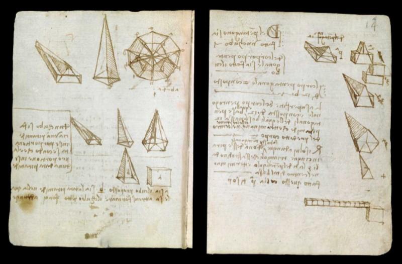 Projeto de digitalização de manuscritos de da Vinci usou método que padroniza imagens na web (Foto: Reprodução/Victoria and Albert Museum)