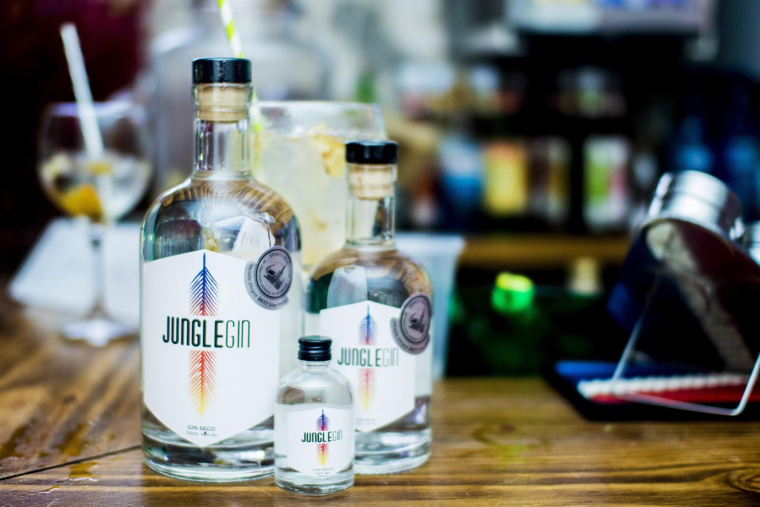 O mineiro Jungle Gin  (Foto: André Giorgi)