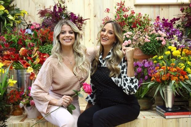 Karina Bacchi e Ticiane Pinheiro (Foto: Marcos Ribas/Brazil News)