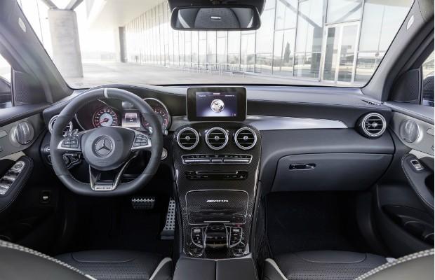 Interior do Mercedes-AMG GLC 63 4MATIC  (Foto: Divulgação)