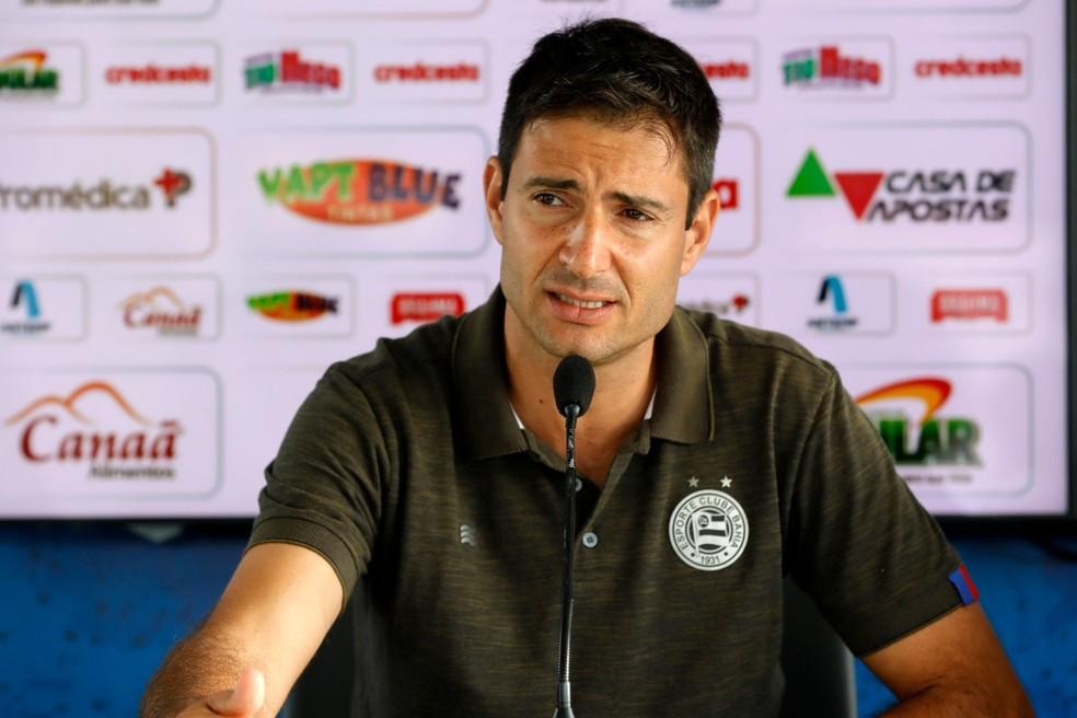 Diego Cerri ficou quatro anos no Bahia — Foto: Felipe Oliveira / Divulgação / EC Bahia
