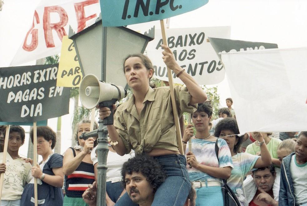 Lucélia Santos em 'Vereda Tropical' — Foto: Acervo Globo
