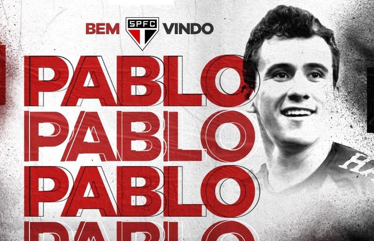 São Paulo anuncia a contratação de Pablo a47bf434ef7da