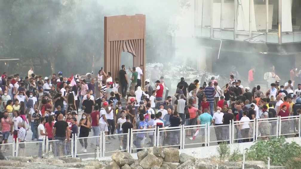 Beirute  — Foto: GloboNews