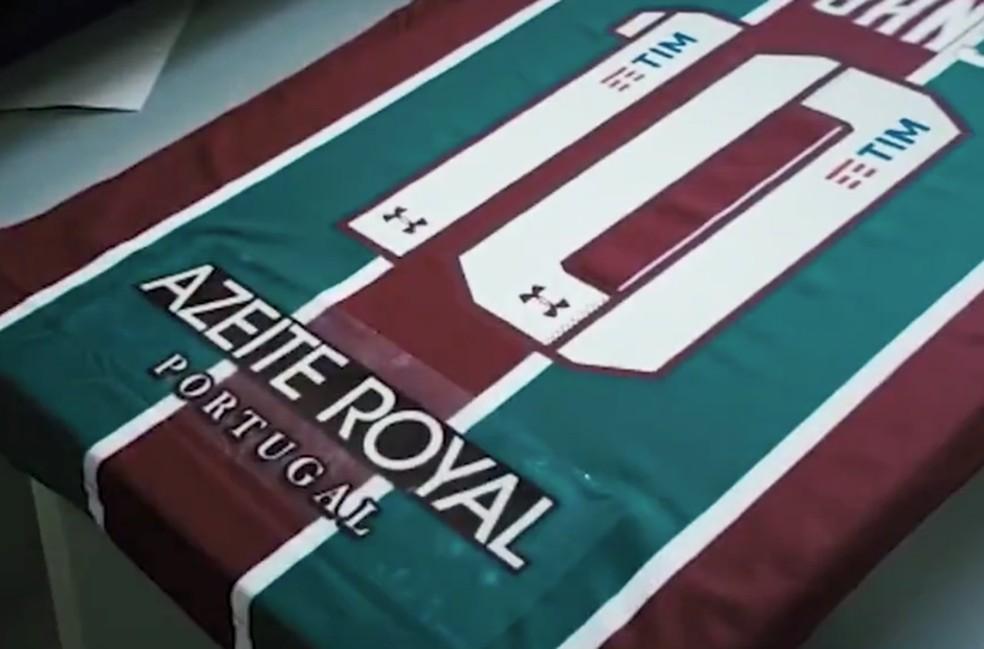 Azeite Royal rescinde com Fluminense — Foto: Reprodução