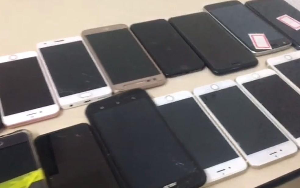 -  Roubo de aparelho celular é crime com grande incidência na região central de Porto Velho, segundo a PM  Foto: Reprodução/Polícia Civil
