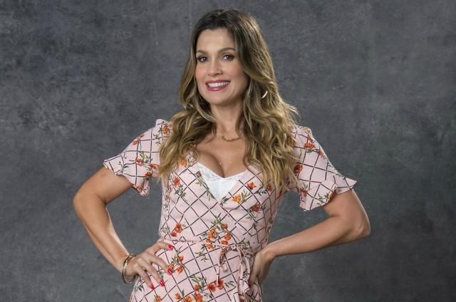 Flávia Alessandra é Rita de Cássia (Foto: TV Globo)