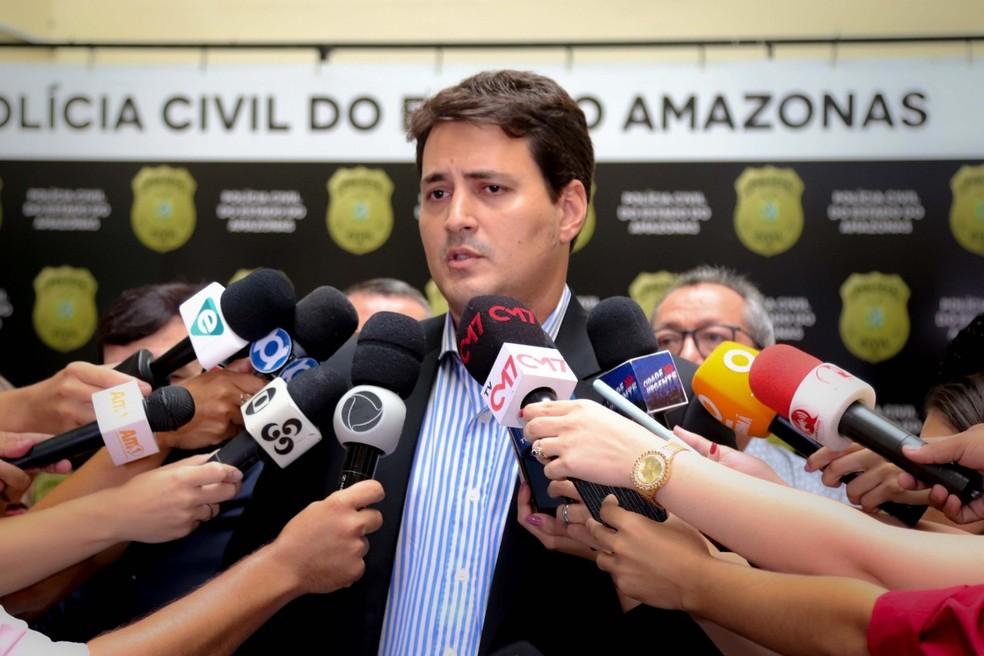 Delegado Luciano Calixto — Foto: Divulgação/PCAM
