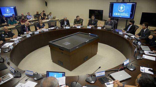 Israel transferiu tecnologia ao Brasil na área de segurança durante a Olimpíada de 2016, no Rio de Janeiro (Foto: TOMAZ SILVA/AGÊNCIA BRASI via BBC News Brasil)