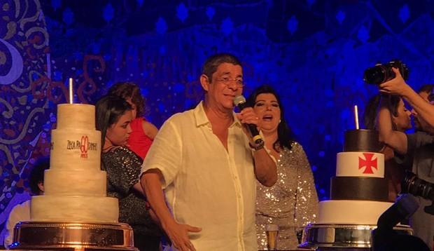 Zeca Pagodinho celebra seus 60 anos (Foto: QUEM)