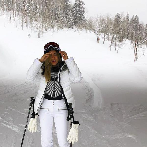 Anitta em Aspen, EUA (Foto: Reprodução Instagram )