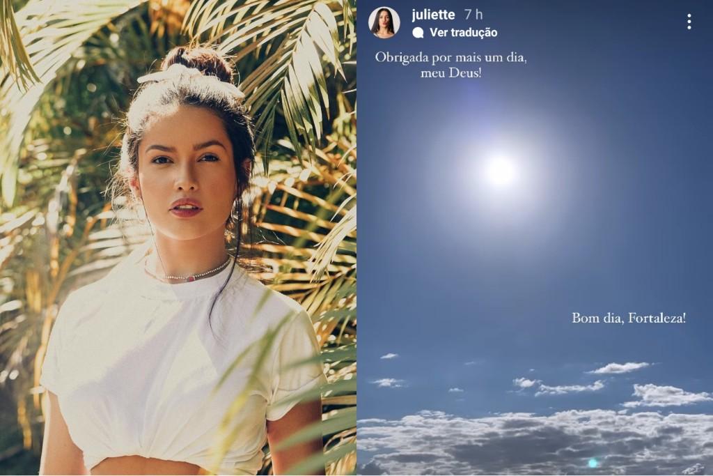 Viagem de Juliette a Fortaleza gera memes bem-humorados com a vencedora do BBB 21; confira