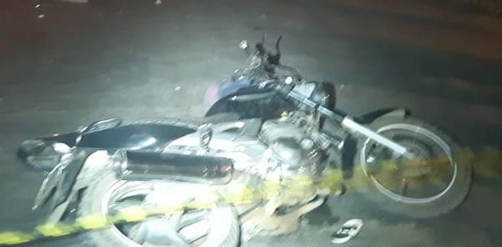 Casal morreu em acidente de trânsito. — Foto: Polícia Rodoviária Federal