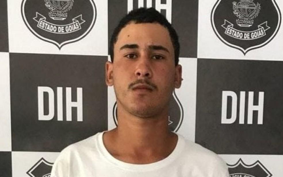 Joel Silva foi preso suspeito de matar o namorado em Goiânia — Foto: Polícia Civil/Divulgação