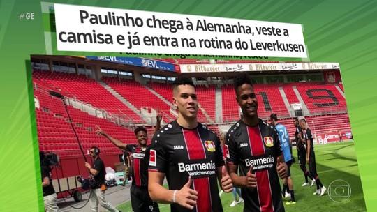 Paulinho chega à Alemanha para jogar pelo Bayer Leverkusen
