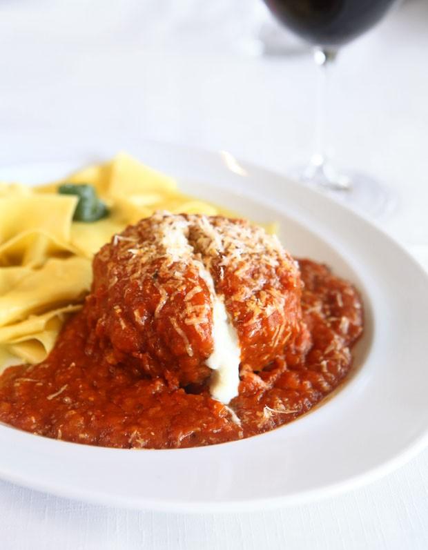 Polpetta recheada com burrata: aprenda receita italiana (Foto: Divulgação)