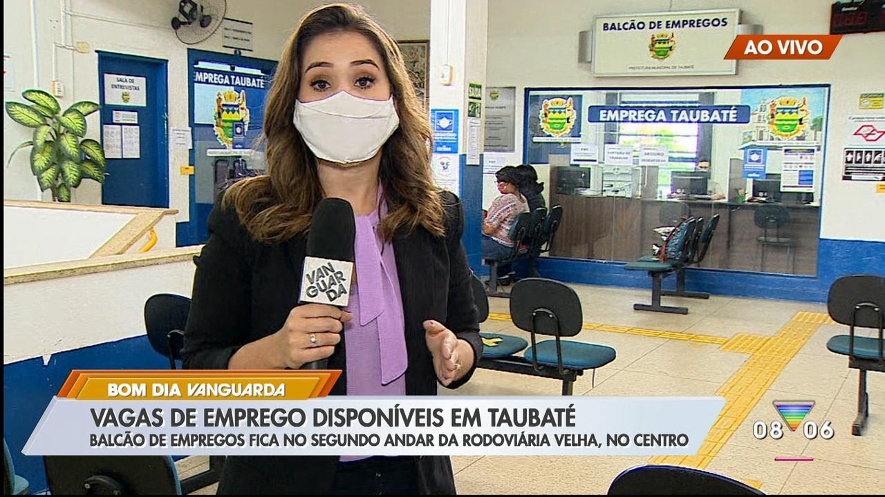 Balcão de empregos em Taubaté tem vagas disponíveis