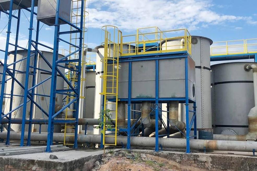 Novo sistema de água em Oriximiná tinha previsão de entrega para 2021 — Foto: Agência Pará/Divulgação