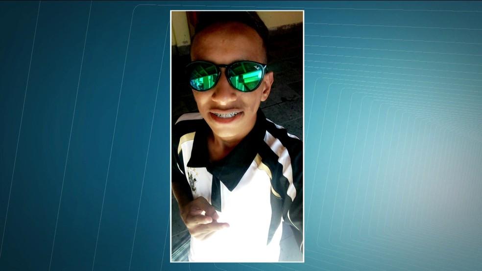 O adolescente Gabriel Paiva, que morreu após ficar internado por quatro dias (Foto: Reprodução/TV Globo)