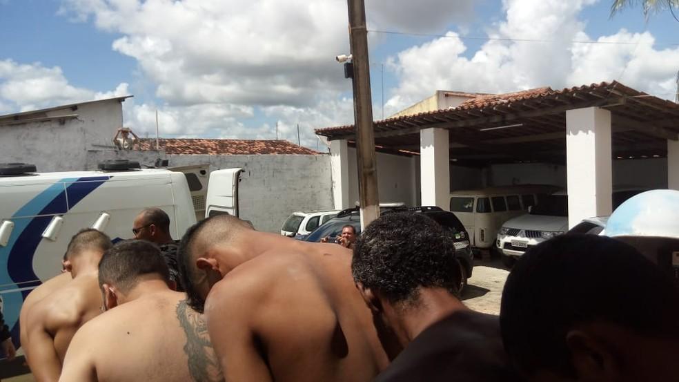 Operação prendeu 13 suspeitos e apreendeu adolescentes em ação contra facções e tráfico de drogas no RN — Foto: Divulgação/Polícia Civil