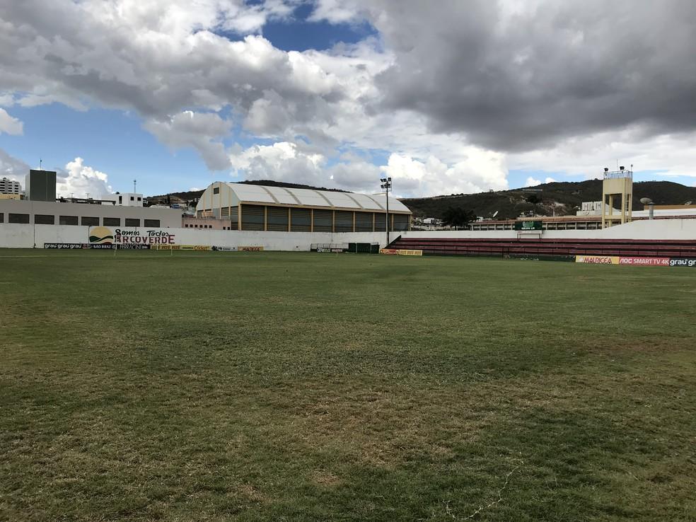 Jogo será no estádio Áureo Bradley  — Foto: Diogo Franco / TV Asa Branca