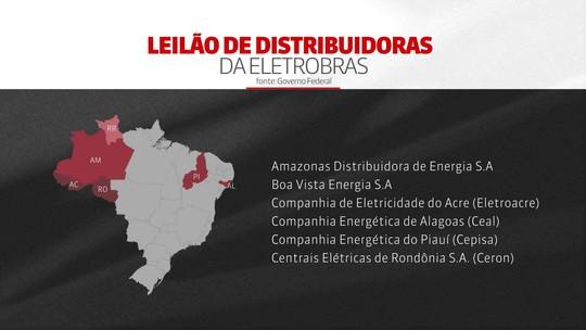 Governo publica edital de leilão de distribuidoras da Eletrobras