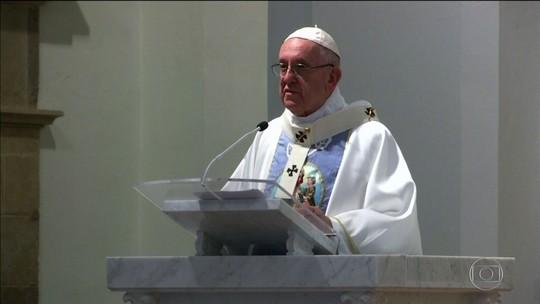 Papa Francisco faz referência aos escândalos de abusos sexuais na Igreja Católica
