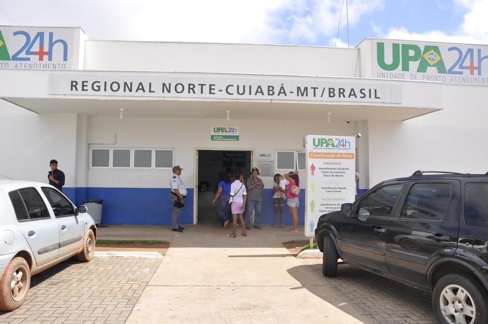 Situação ocorreu na UPA da Morada do Ouro, em Cuiabá (Foto:  G1)