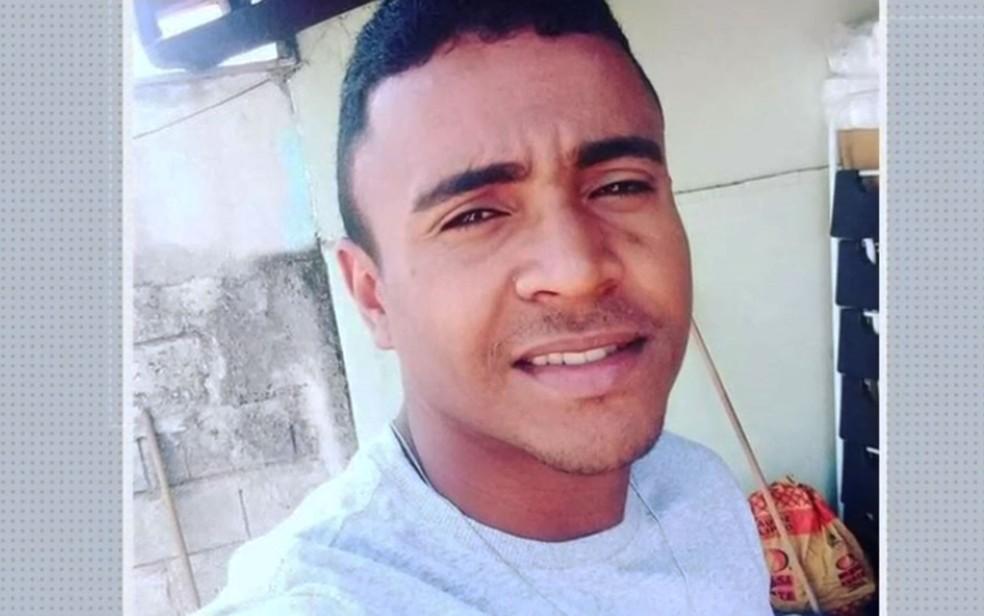Jackson Bruno da Silva, de 29 anos, desapareceu durante banho em barragem no norte da Bahia — Foto: Reprodução/TV Bahia