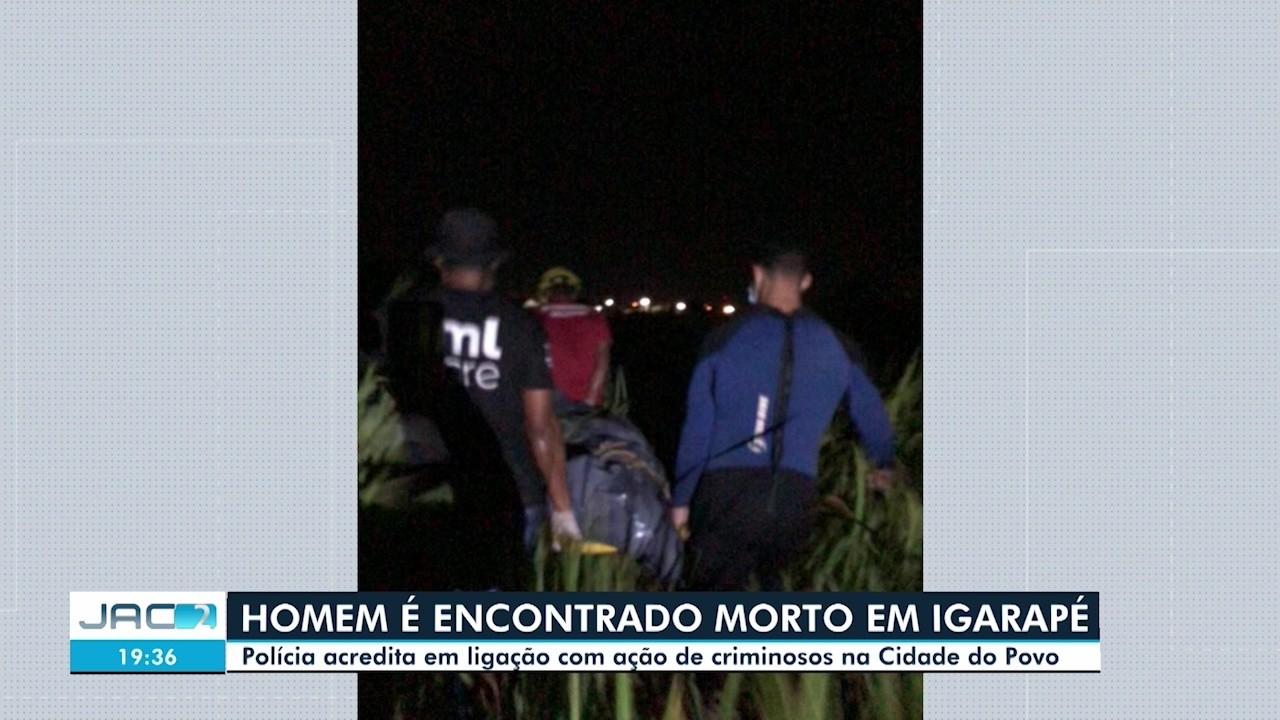 Bombeiros acham corpo com marcas de tiro em igarapé na capital