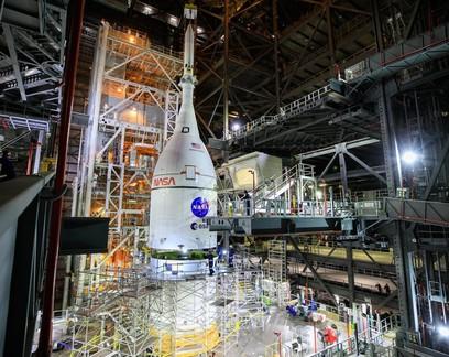 Nasa lançará primeira parte da Missão Artemis em fevereiro de 2022