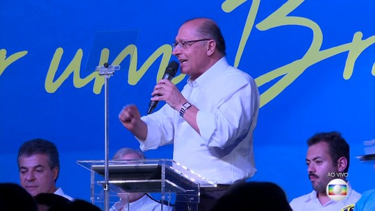 Por 470 votos a 3, PSDB elege Geraldo Alckmin presidente nacional do partido