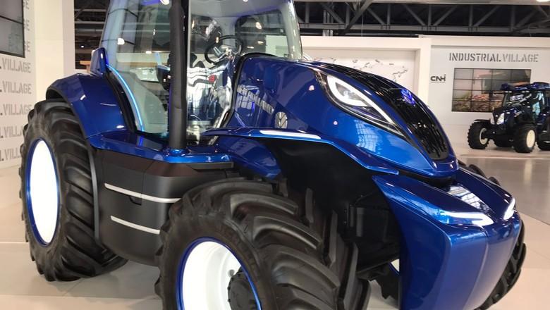trator-cnh-maquinas-italia (Foto: Cassiano Ribeiro/Ed. Globo)