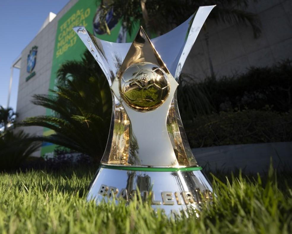 Taça do Brasileirão 2020 está ainda mais disputada — Foto: Lucas Figueiredo/CBF