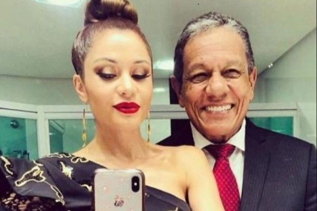 Maria Melilo e Arnaldo Pereira Filho (Foto: Reprodução Instagram)